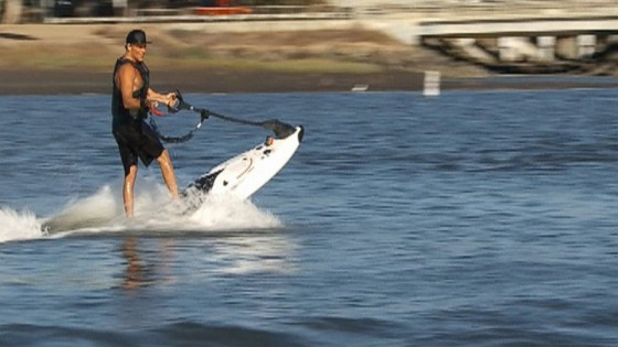 Surfboard With Jet-Powered Engine Takes Surfing Almost Anywhere
