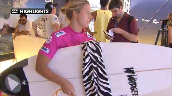 Mt Woodgee ライダー Paige Hareb (ペイジ・ハーブ)Girls Rio Pro 2013