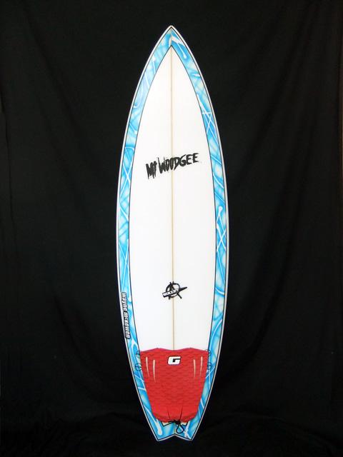 中古 Mt Woodgee Surfboards BULLETモデル
