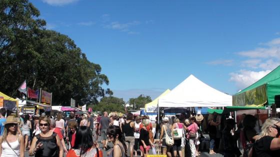 Byronbay Market first Sunday
