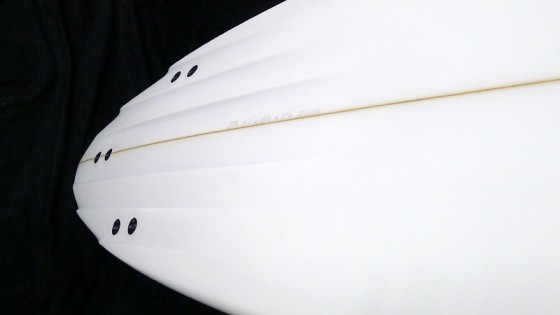 Mt Woodgee Surfboards 6 Channel Pin tail