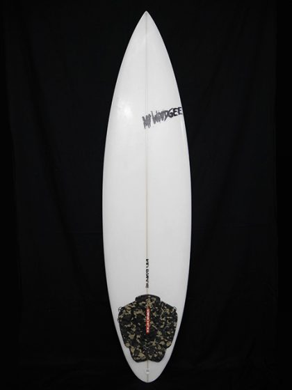 #6ch032 中古 Mt Woodgee Surfboards 6'4 6 CHANNEL