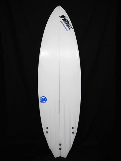 #6ch034 中古 Mt Woodgee Surfboards 6'1 6 CHANNEL