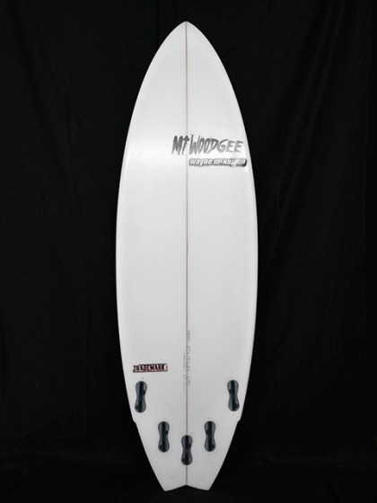 #trm026 中古 Mt Woodgee Surfboards 5'7 TRADEMARK