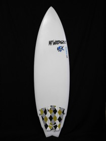 #mib028 中古 Mt Woodgee Surfboards 5'9 MINI BULLET