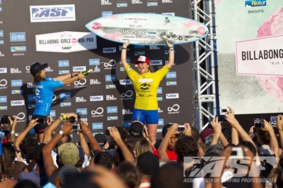 Carissa Moore Win 2011 Billabong Rio Girl's Pro