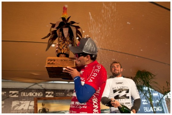 Adriano Win Billabong Pro J Bay 2012
