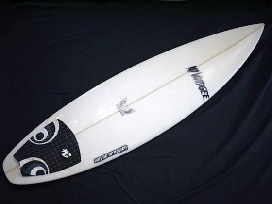 #dub022 中古 Mt Woodgee Surfboards 5'9 DURBO