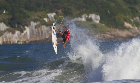 Michel Bourez 2014 Billabong Rio Pro