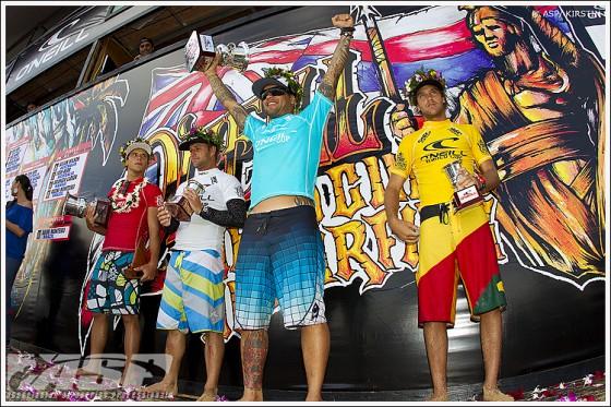 Raoni Monteiro O'Neill World Cup of Surfing