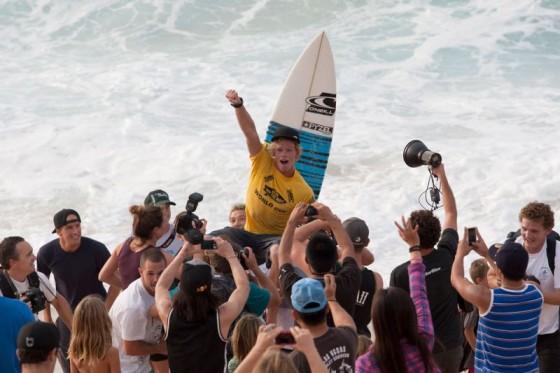 Hawaii Vans World Cup winner John John Florence (HAW). © ASP/Cestari