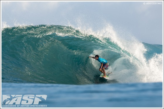 Billabong Pipe Masters Jeremy Flores
