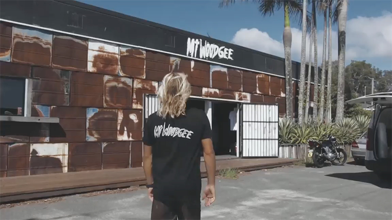 Mt Woodgee Surfboards (マウントウッジサーフボード)のプロモーション映像
