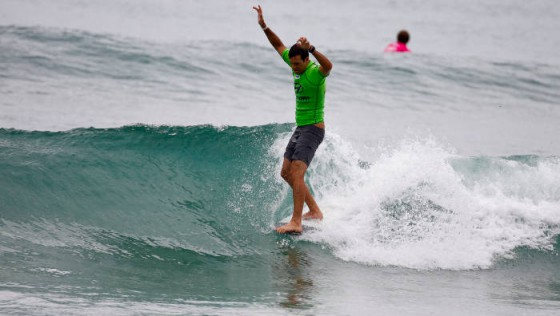 Josh Constable Hyundai Pro Longboard Tour title at Sandy Bay