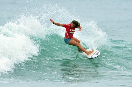 Paige Hareb (ペイジ・ハーブ)ISA World Surfing Games Day4