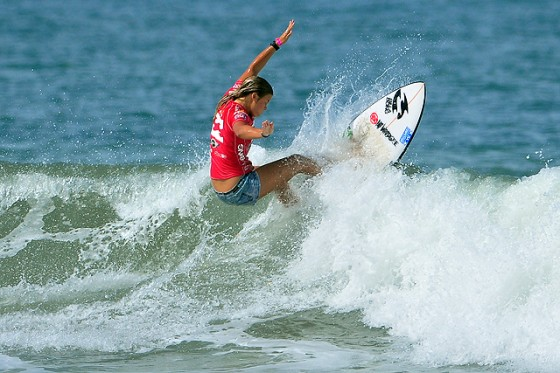 Paige Hareb (ペイジ・ハーブ)ISA World Surfing Games Day7