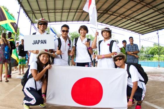ISA World Surfing Games 2011 JAPAN team
