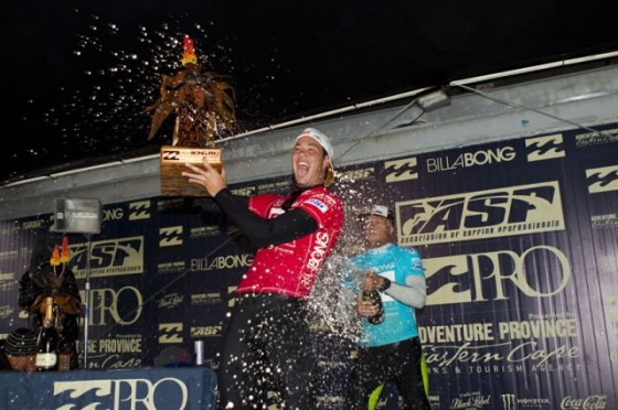 Jordy Smith Win Billabong Pro J-Bay 2011