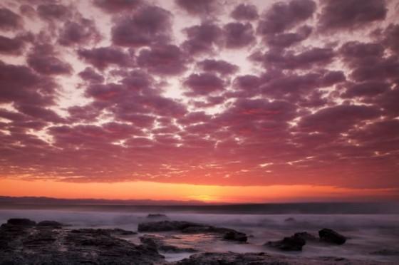 A beautiful J-Bay sunrise. © ASP jbay11_day7