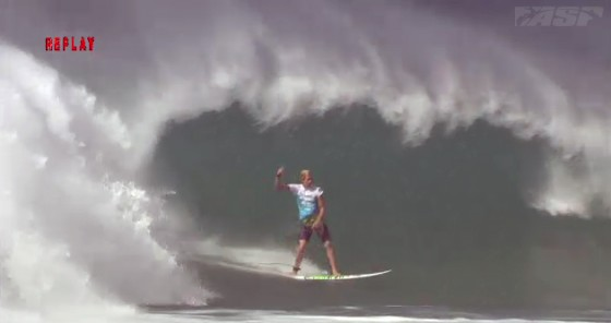 John John Florence 10point Billabong Pipe Masters R2H4