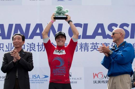Glenn Hall Win Hainan Classic