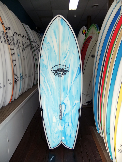 "Mt Woodgee Surfboards Retro Fish 5'6"" #82982"