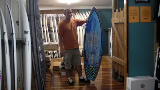 Mt Woodgee Surfboards マネージャー ジェリー