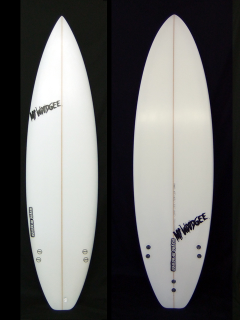 Mt Woodgee Surfboards STANDARD 6'5""