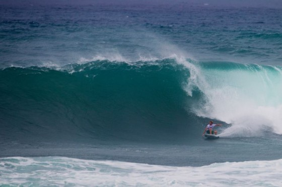 Kai Otton (AUS) secured a well -deserved round of 64 heat win. © ASP/ Kirstin