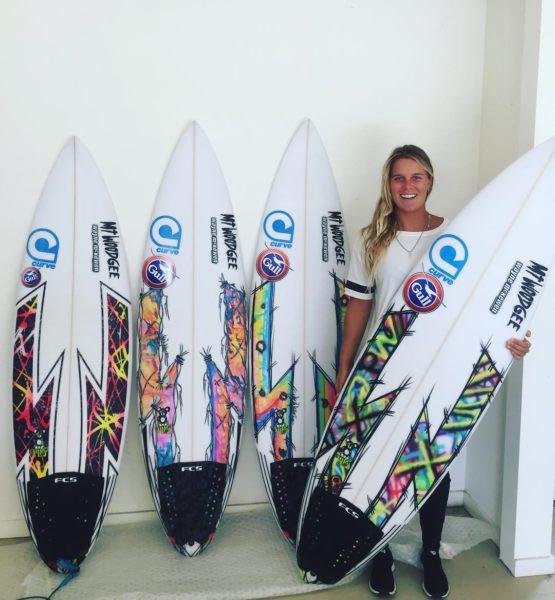 Mt Woodgee Surfboards STITCH UP モデル