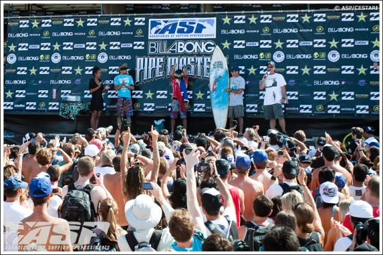 Billabong Pipe Masters Jeremy Flores Win!