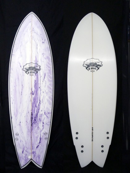 Mt Woodgee Surfboards RETORO FISH QUAD