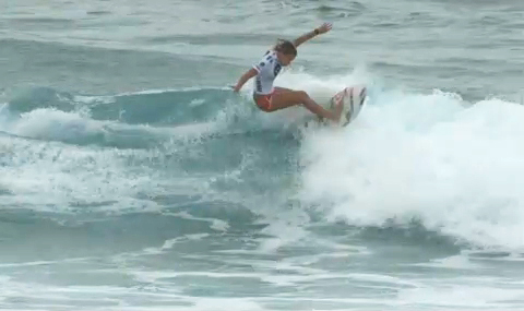 Roxy Pro 2010 Round2 Mt Woodgee Surfboards Paige Hareb(ページ・ハーブ)
