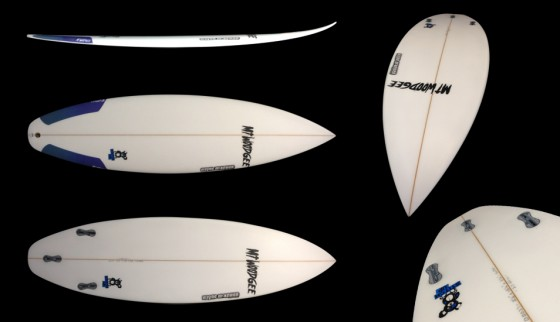 Mt Woodgee Surfboards Stitch Up モデル