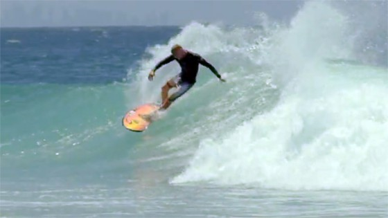TWIN FANG Mick Fanning